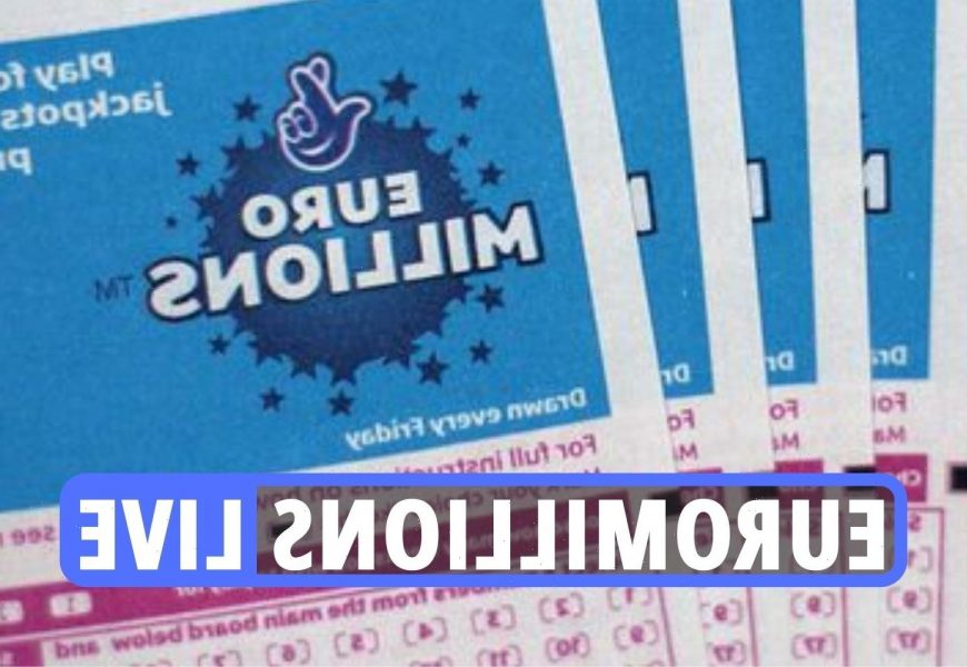 EuroMillions results LIVE: Winning lottery numbers revealed as no winner sees jackpot rollover to £25M this Friday