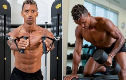 Ex-Man Utd star Nani shows off shredded abs aged 34 after helping Orlando City to 2-1 win over DC United