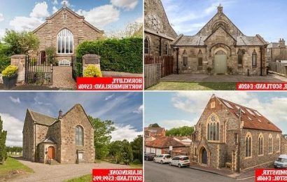 Four converted churches for sale including one from Love It or List It