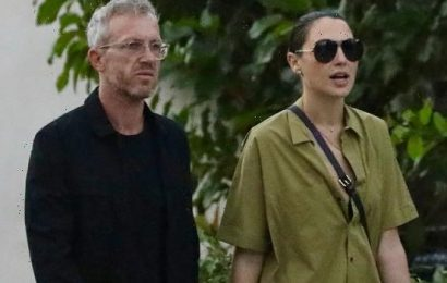 Gal Gadot & Husband Jaron Varsano Spotted In Rare Photos Together Out On A Stroll In West Hollywood — Photos