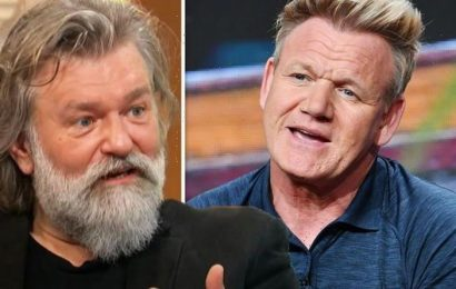 Hairy Bikers' Si King admits he used to plant Gordon Ramsay's thongs for ex-wife to find