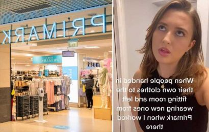 I worked in Primark – people handed me their dirty underwear in the changing room & one worker was given poo in a bag