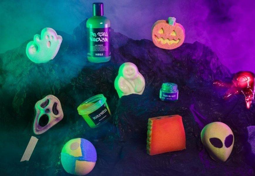 Inside Lush's spooky Halloween range featuring Molly-Mae Hague's £4 pumpkin bath bomb