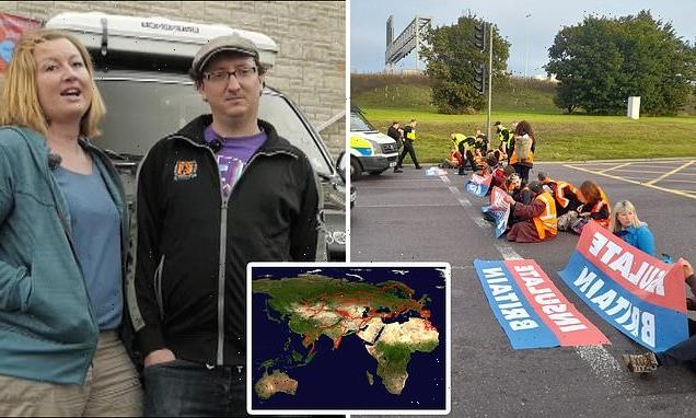 Insulate Britain protester drove 4×4 on 81,000-mile jaunt