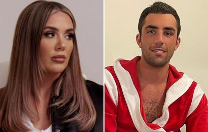 Jack Fincham joins Towie to confront Frankie Sims as the exes have explosive row on-screen