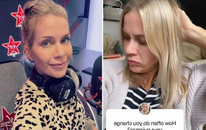 Kate Lawler sparks debate as she reveals she only changes her pyjamas every two weeks