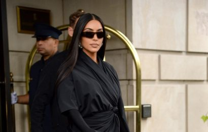 Keep Up With Kim Kardashian in These Tall Black Boots