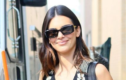 Kendall Jenner Checks Out Unique Art at NYC Art Gallery