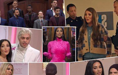 Kim Kardashian SNL Sketches Ranked: Kim Roasts Fam, Impersonates Kourtney, Khloe and Kris Appear