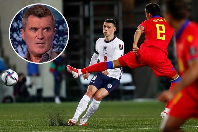 Man City whiz Phil Foden is England's 'Tom Brady' thanks to his phenomenal passing skills, says United legend Roy Keane