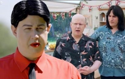 Matt Lucas hits back after fans call out 'offensive' accent during Bake Off German week