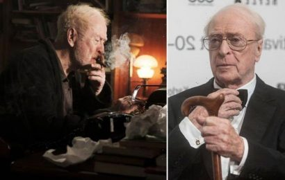 Michael Caine, 88, retires from acting after 'spine problem' WATCH trailer for final film