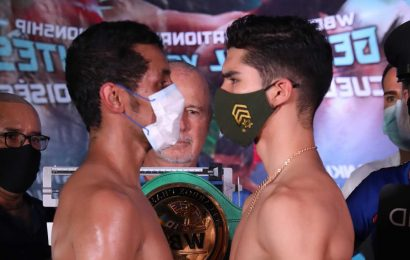 Moises Fuentes rushed to hospital for emergency surgery after brutal KO left him unconscious as WBC leads 'prayers'