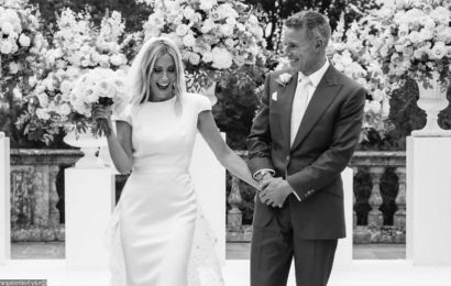 Nicole Appleton and New Husband Flash Big Smiles in Wedding Pictures