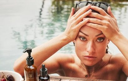 Olivia Wilde Strips Down In The Pool For Stunning True Botanicals Campaign — Photos