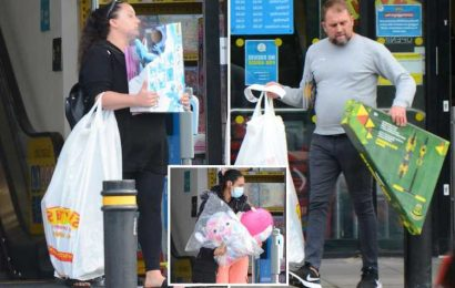 Parents break down in TEARS after being told children's Christmas presents are sold OUT amid shortages