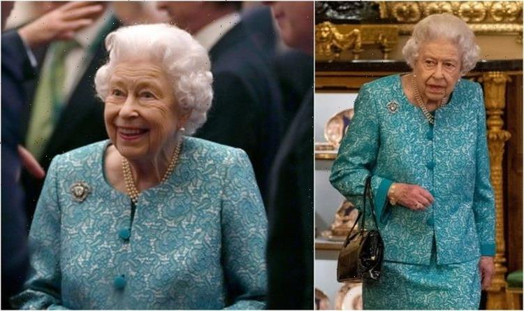 Queen's sweet nod to Prince Philip wearing brooch with 'largest diamond ever discovered'