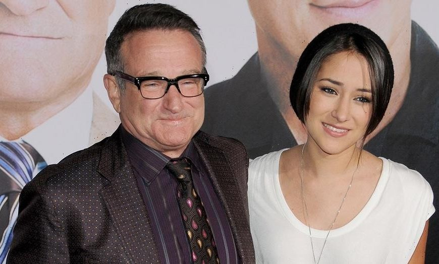 Robin Williams' daughter pleads with fans to stop 'spamming' her with viral impression of her father