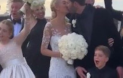 Selling Sunset's Heather Rae Young weds 'soulmate' Tarek El Moussa in dream wedding