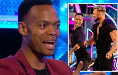 Strictly Come Dancing's Johannes Radebe broke down in tears over John Whaite pairing