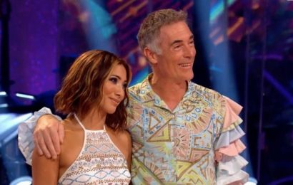 Strictly's Greg Wise is third star eliminated after facing Judi Love in a dance-off