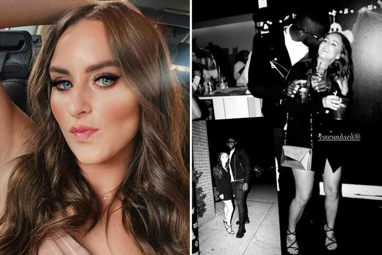 Teen Mom Leah Messer kisses new boyfriend Jaylan Mobley while partying at nightclub