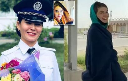 Top female Afghan cop makes dramatic escape from Afghanistan
