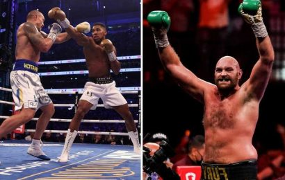Tyson Fury to return before April and then eye undisputed title fight with Anthony Joshua or Oleksandr Usyk by October