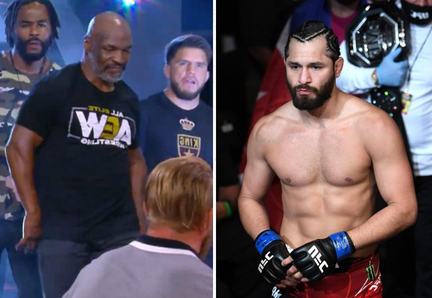 UFC star Jorge Masvidal's flying knee to ex-WWE champ Chris Jericho gave AEW more press than Mike Tyson's appearance