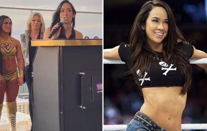 WWE legend AJ Lee announces shock return to wrestling following neck injury hell after husband CM Punk's AEW comeback