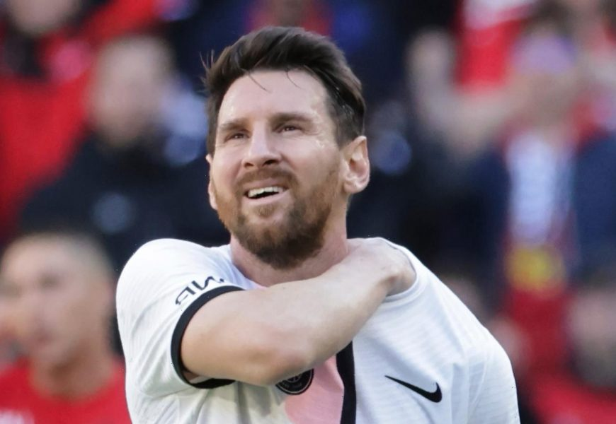Watch glum Lionel Messi wave at Rennes fans after suffering shock defeat with PSG as hundreds gather to see legend